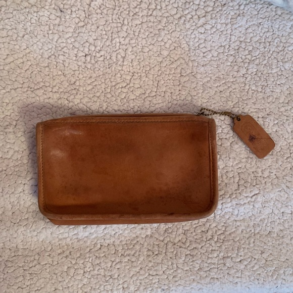 Coach Handbags - Vintage Coach Leather Wallet or Clutch